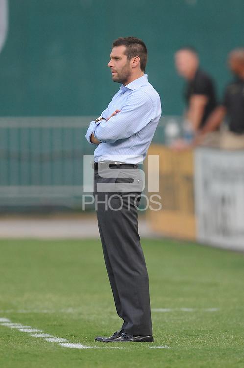 D.C. United Head Coach Ben Olsen. File photo RFK stadium 2011 season.