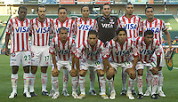 Futbol Club Necaxa. Necaxa defeated LA Galaxy in an International friendly match 1-0 at The Home Depot Center in Carson, California, Wednesday July 12, 2006.