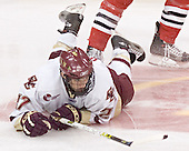 Andrew Orpik - The Boston College Eagles defeated the Northeastern University Huskies 5-2 in the opening game of the 2006 Beanpot at TD Banknorth Garden in Boston, MA, on February 6, 2006.