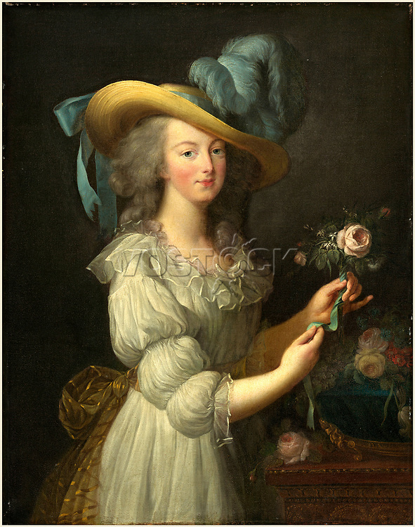 after Elisabeth-Louise Vigée Le Brun, Marie-Antoinette, after 1783, oil on canvas