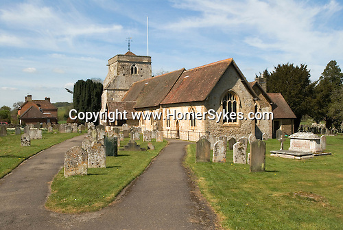 Frensham Parish Church of St Mary the Virgin. Surrey. UK.