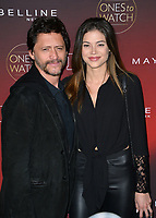 Francesca Eastwood &amp; Clifton Collins Jr. at the 2017 People's &quot;Ones To Watch&quot; event at NeueHouse Hollywood, Los Angeles, USA 04 Oct. 2017<br /> Picture: Paul Smith/Featureflash/SilverHub 0208 004 5359 sales@silverhubmedia.com