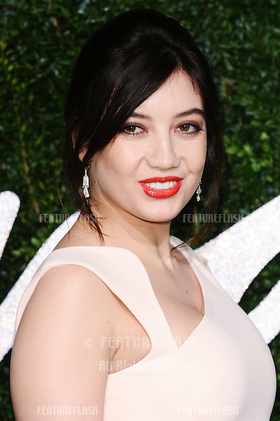 Daisy Lowe arrives for British Fashion Awards 2014 at the London Coliseum, Covent Garden, London. 01/12/2014 Picture by: Steve Vas / Featureflash