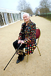 Diana Athill at Christ Church during the Sunday Times Oxford Literary Festival, UK, 24 March - 1 April 2012. ..PHOTO COPYRIGHT GRAHAM HARRISON .graham@grahamharrison.com.+44 (0) 7974 357 117.Moral rights asserted.