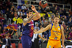 League ACB-ENDESA 2017/2018 - Game: 12.<br /> FC Barcelona Lassa vs Herbalife Gran Canaria: 77-88.<br /> Adrien Moerman vs Xavi Rabaseda.