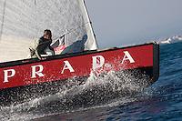 Luna Rossa ITA94 .II TROFEO DESAFÍO ESPAÑOL - Club Náutico Español de Vela, Port America's Cup, Valencia, España/Spain. 7th to the 9th of November 2008. America's Cup Class V5 competition with Desafío Español ESP97, Team Origin GBR88, Alinghi SUI100, Luna Rossa ITA94 and near one hundred of yachts will participate.