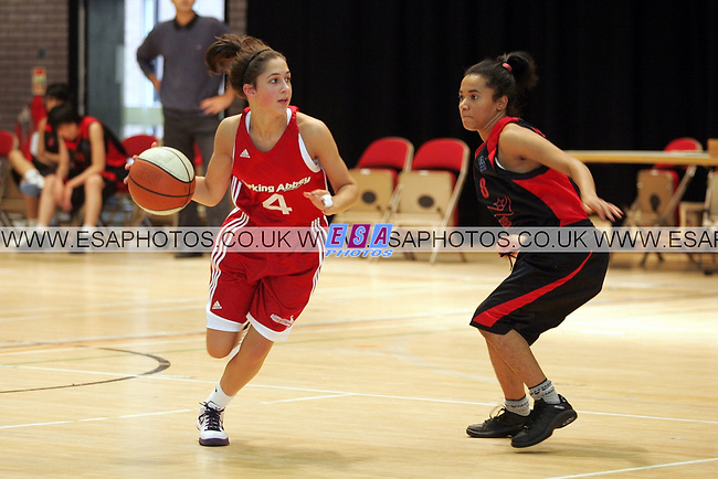 BARKING ABBEY LEOPARDS v NEWHAM NASSA<br /> ENGLAND BASKETBALL LEAGUE<br /> SUNDAY 31ST OCT 2010