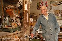 Molinero con harina en Mondoñedo