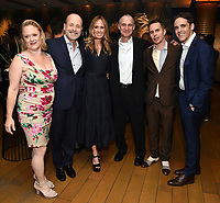 LOS ANGELES - SEPTEMBER 21: (L-R) Nicole Fosse, John Landgraf, Chairman, FX Networks & FX Productions, Dana Walden, Chairman, Disney Television Studios & ABC Entertainment, Joel Fields, Sam Rockwell, and Steven Levenson attend the FX Networks & Vanity Fair Pre-Emmy Party at Craft LA on September 21, 2019 in Los Angeles, California. (Photo by Frank Micelotta/FX/PictureGroup)