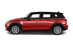 Car driver side profile view of a 2020 Mini Clubman S 5 Door Wagon