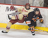 Steven Cook, Kyle Hagel - The Princeton University Tigers defeated the University of Denver Pioneers 4-1 in their opening game of the Denver Cup on Friday, December 30, 2005 at Magness Arena in Denver, Colorado.