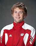 2010-11 UW Swimming and Diving Team - Tyler Hines. (Photo by David Stluka)