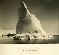 BNPS.co.uk (01202 558833)<br /> Pic: Bonhams/BNPS<br /> <br /> Spectacular 'Glacier Berg'..<br /> <br /> Photographic record of one of the worlds most epic tales of endurance...<br /> <br /> Remarkable photos documenting Sir Ernest Shackleton's ill-fated attempt to cross Antarctica over 100 years ago have emerged for sale for £40,000.<br /> <br /> The 1914-17 expedition is remembered for one of the greatest feats of human bravery and endurance after the party became stranded for 18 months in freezing conditions. <br /> <br /> The expedition's official photographer, Frank Hurley, captured their ordeal on camera and made presentation albums when he eventually returned to Britain.<br /> <br /> One album was given to King George V. Seven are believed to survive today, including the one for sale that has been owned by a private collector for over 40 years.