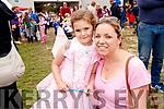 Anna Rose and Fallon Moore, Dingle, enjoying the Kilflynn Enchanted Fairy Festival on Sunday afternoon last.