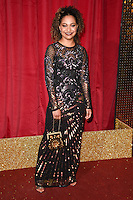 Kassius Nelson<br /> arrives for the British Soap Awards 2016 at Hackney Empire, London.<br /> <br /> <br /> &copy;Ash Knotek  D3124  28/05/2016