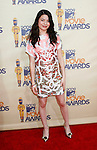 UNIVERSAL CITY, CA. - May 31: Actress Miranda Cosgrove arrives at the 2009 MTV Movie Awards held at the Gibson Amphitheatre on May 31, 2009 in Universal City, California.