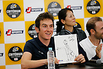 Tour de France Champion Geraint Thomas (WAL) at the media day before the 2018 Saitama Criterium, Japan. 3rd November 2018.<br /> Picture: ASO/Yuzuru Sunada | Cyclefile<br /> <br /> <br /> All photos usage must carry mandatory copyright credit (© Cyclefile | ASO/Yuzuru Sunada)