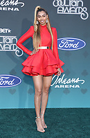 17 November 2019 - Las Vegas, NV - Sonna. 2019 Soul Train Awards Red Carpet Arrivals at Orleans Arena. Photo Credit: MJT/AdMedia