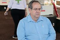 Campinas (SP), 08/04/2020 - Covid-19/Atendimento Unicamp - Coletiva de Imprensa, Dr. Antonio Gonçalves de Oliveira Filho, Superintendente do Hospital de Clínicas da Unicamp. Em funcionamento nesta terça-feira (8), no estacionamento dos Hospital de Clinicas da Unicamp, na cidade de Campinas, interior de São Paulo uma tenda dos Expedicionários da Saúde para ajudar no Pronto Atendimento para demandas relacionadas ao novo coronavírus.