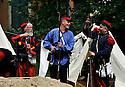 07/05/11 - VICHY - ALLIER - FRANCE - Reconstitution historique des fetes Napoleon III - Photo Jerome CHABANNE