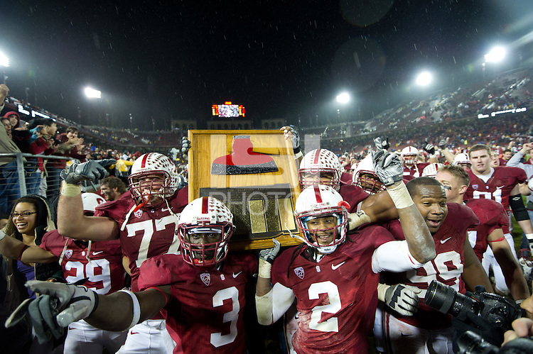 Stanford, Ca - Saturday, November 19, 2011: Stanford vs University of California-Berkeley. Stanford 31, Cal 28.