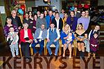 The christening party of Kai Anthony McCoy from Curraheen in Gallys Restuarant on Saturday.<br /> Ann Flynn, Jeffrey Roche, Hazel Flynn, Jonathan McCoy and Nadia Khenchloey.