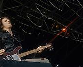 METALLICA - Cliff Burton - performing live at the Heavy Sound Festival at the Sportsfield in Poperinge Belgium - 10 Jun 1984.  Photro credit: Bertrand Alary/IconicPix