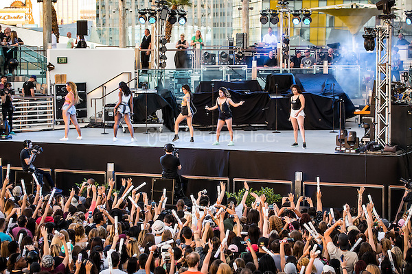 LAS VEGAS, NV - May 15, 2016: ***HOUSE COVERAGE*** Fifth Harmony performing at CBS Radio Presents: SPF at The Boulevard Pool at The Cosmopolitan of Las Vegas in Las vegas, NV on May 15, 2016. Credit: Erik Kabik Photography/ MediaPunch