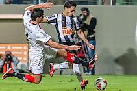 BELO HORIZONTE, MG, 10 JUNHO 2013 - LIBERTADORES - ATLÉTICO MG X Newell's Old Boys (ARG) -  Josué do Atlético Mineiro em lance contra o Newell's Old Boys (Argentina), jogo valido pela partida de volta das semi-finais da Taça Libertadores daAmérica no estádio Independencia em Belo Horizonte, na noite desta quarta-feira, 10. (FOTO: NEREU JR / BRAZIL PHOTO PRESS).