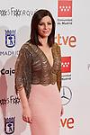 Ana Alvarez attends to XXV Forque Awards at Palacio Municipal de Congresos in Madrid, Spain. January 11, 2020. (ALTERPHOTOS/A. Perez Meca)