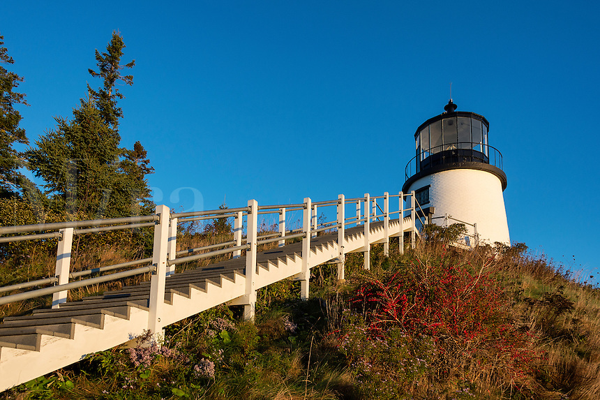 Owls Head Lighthouse, Maine,  USA