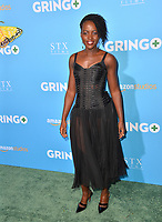 Lupita Nyong'o at the world premiere for &quot;Gringo&quot; at the L.A. Live Regal Cinemas, Los Angeles, USA 06 March 2018<br /> Picture: Paul Smith/Featureflash/SilverHub 0208 004 5359 sales@silverhubmedia.com