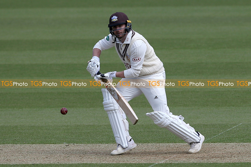 Mark Stoneman in batting action for Surrey during Surrey CCC vs Essex CCC, Specsavers County Championship Division 1 Cricket at the Kia Oval on 11th April 2019