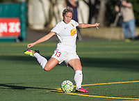 Seattle, WA - Saturday July 16, 2016: Abigail Dahlkemper during a regular season National Women's Soccer League (NWSL) match between the Seattle Reign FC and the Western New York Flash at Memorial Stadium.