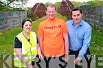 Now is your chance to get fit and active in Killorglin with the launch of the first-ever Couch to 5km programme in the community. .L-R Orna Eccles, coach Jonathan Leniston and Chris McGuillicuddy.