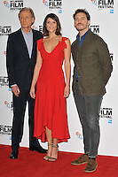 Bill Nighy, Gemma Arterton and Sam Claflin at the &quot;Their Finest&quot; 60th BFI London Film Festival press conference &amp; photocall, The May Fair Hotel, Stratton Street, London, England, UK, on Thursday 13 October 2016.<br /> CAP/CAN<br /> &copy;CAN/Capital Pictures /MediaPunch ***NORTH AND SOUTH AMERICAS ONLY***