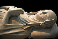 Tomb of Blanche of France (1320) daughter of Saint Louis and Marguerite of Provence. The Gothic Cathedral Basilica of Saint Denis ( Basilique Saint-Denis ) Paris, France. A UNESCO World Heritage Site