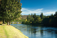 The River Tay and Dunkeld Bridge, Dunkeld Perthshire