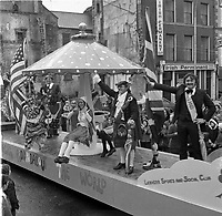 The St. Patrick's Day Parade makes its way down High Street and onto Main Street in 1978..Picture by Don MacMonagle.www.macmonagle.com