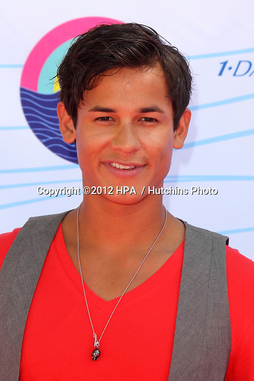 LOS ANGELES - JUL 22:  Bronson Pelletier  arriving at the 2012 Teen Choice Awards at Gibson Ampitheatre on July 22, 2012 in Los Angeles, CA