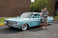 1961 Custom Junior (#117) – 1961 Chevrolet Impala registered to Lynn Draper is pictured during 4th State Representative Chevy Show on Thursday, June 30, 2016, in Fort Wayne, Indiana. (Photo by James Brosher)