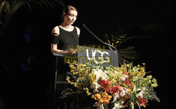 1 February 2014 - Santa Barbara, California - Rooney Mara.  Cate Blanchett honoured with Outstanding performer of the year award, 29th Santa Barbara International Film Festval Held At The Arlington Theatre, Santa Barbara, California, USA. <br /> CAP/ADM/FS<br /> &copy;Faye Sadou/AdMedia/Capital Pictures