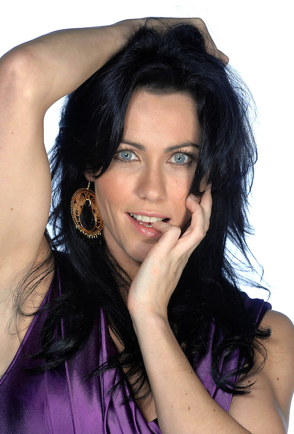 Scottish actress Kirsty Mitchell...