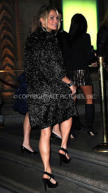WWW.ACEPIXS.COM . . . . . ....November 2 2009, New York City....Model Molly Sims arriving at the 13th Annual 2009 ACE Awards presented by the Accessories Council at Cipriani 42nd Street on November 2, 2009 in New York City.....Please byline: KRISTIN CALLAHAN - ACEPIXS.COM.. . . . . . ..Ace Pictures, Inc:  ..tel: (212) 243 8787 or (646) 769 0430..e-mail: info@acepixs.com..web: http://www.acepixs.com