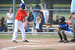 Jackson Newman bats in the Germantown Baseball League all star game at Cameron Brown Park in Germantown, Tenn. on Wednesday, June 3, 2015. The Red team won 4-2.