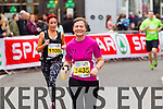 Catherine OMahony, 1435 and Michelle Dempsey, 1109 who took part in the 2015 Kerry's Eye Tralee International Marathon Tralee on Sunday.