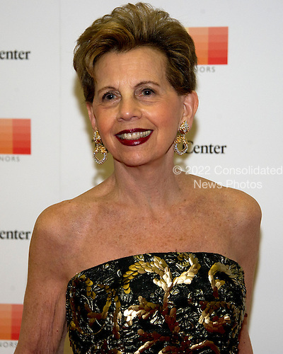Adrienne Arsht arrives for the formal Artist's Dinner honoring the recipients of the 39th Annual Kennedy Center Honors hosted by United States Secretary of State John F. Kerry at the U.S. Department of State in Washington, D.C. on Saturday, December 3, 2016. The 2016 honorees are: Argentine pianist Martha Argerich; rock band the Eagles; screen and stage actor Al Pacino; gospel and blues singer Mavis Staples; and musician James Taylor.<br /> Credit: Ron Sachs / Pool via CNP