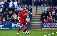 Brad Smith of Liverpool in action during the 2016/17 Pre Season Friendly match between Tranmere Rovers and Liverpool at Prenton Park, Birkenhead, England on 8 July 2016. Photo by PRiME Media Images.