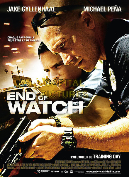 FRENCH POSTER ART.in End of Watch (2012).*Filmstill - Editorial Use Only*.CAP/FB.Supplied by Capital Pictures.