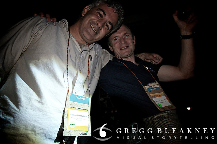 Tuesday Night Party Greenbar -- San Cristobol Mexico - ATTA - Adventure Travel World Summit